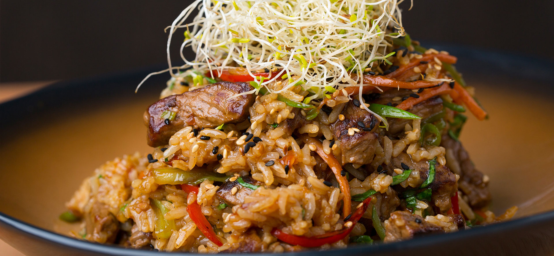 Vegetable Rice Wok