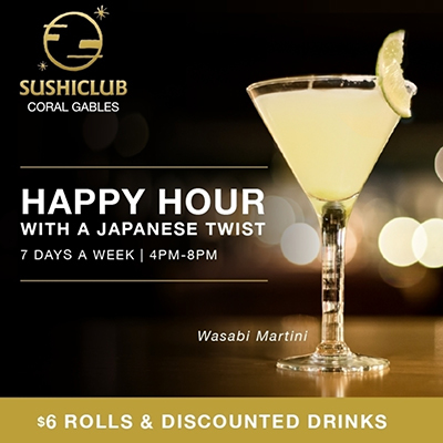 Happy Hour with a japanese twist