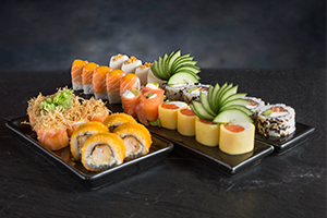 Sushi Combined Platter Roll&Roll Combo